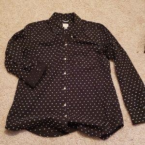 Misses button down shirt